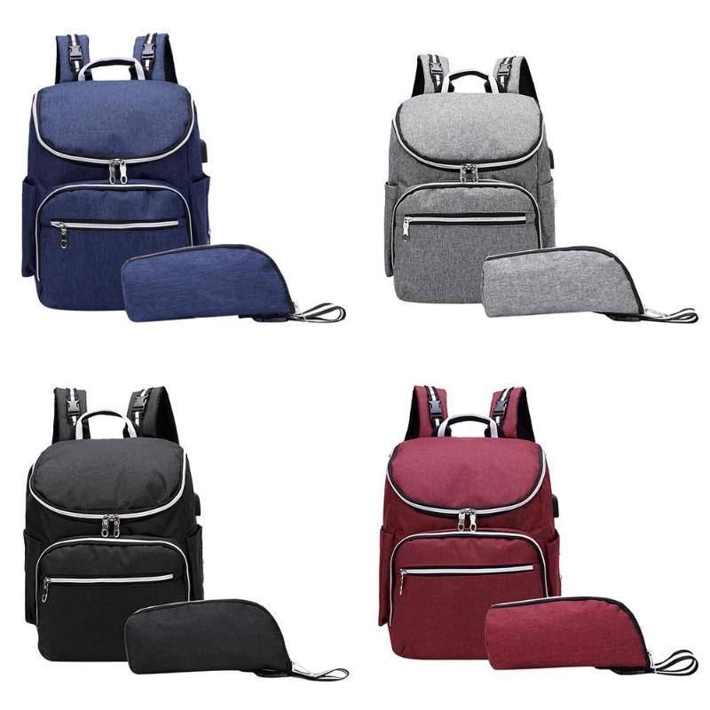 Women Mummy Backpacks Zipper Large Capacity Travel Purse Shoulder Handbags Fashionable Travel Backpack for Baby CareWomen Mummy Backpacks Zipper Large Capacity Travel Purse Shoulder Handbags Fashionable Travel Backpack for Baby Care