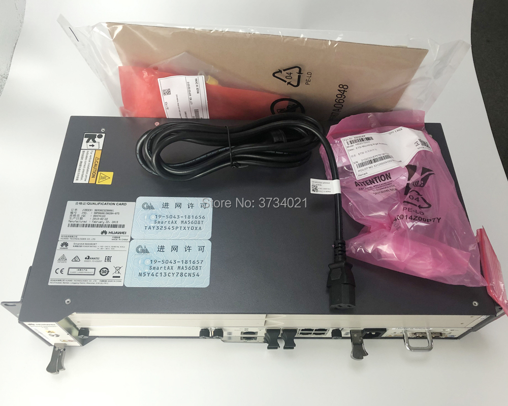 Image 5 - huawei olt ma5608t 16ports Opitcal Line Terminal Gpon/EPON OLT Device Chassis + 1*MCUD + 1*MPWC without service board.-in Fiber Optic Equipments from Cellphones & Telecommunications