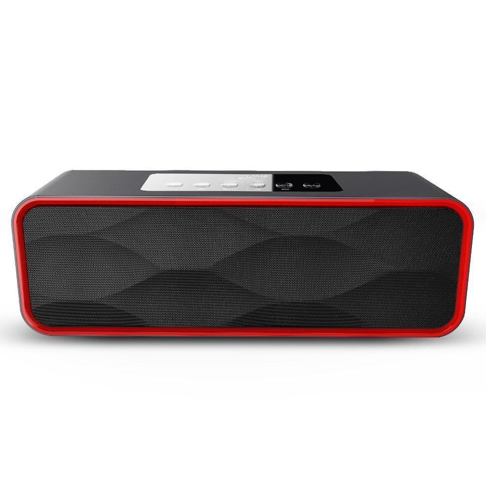 MUSKY DY22 Mini Speaker 2 in 1 Mini Wireless Bluetooth FM Radio Speaker Portable Speaker Support USB FM radio TF card outdoor portable bluetooth speaker wireless waterproof bass loud speaker 3d hifi stereo subwoofer support tf card fm radio