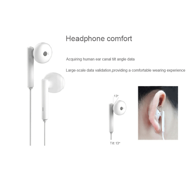 Original Huawei Honor AM115 Earphone with 3.5mm in Ear Earbuds Headset Wired Control for Huawei P10 P9 P8 Mate9 Honor 8 phone