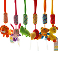 SHILOH 6 styles Newborn Infant Toys Mobile Baby Plush Toy Bed Doll Wind Chimes Rattles Stroller Crib Toy Music toy Kid Rattle