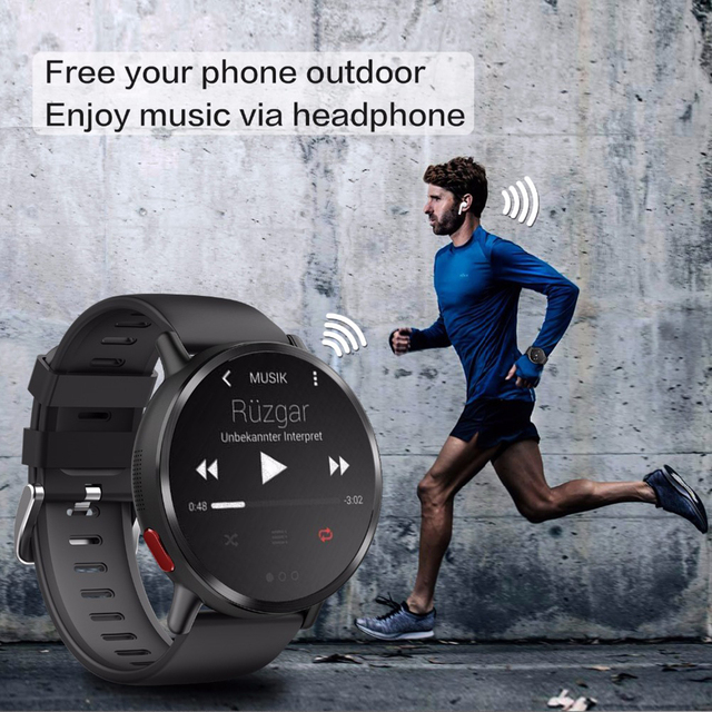 8MP Camera Waterproof Sport GPS Watch Smartwatch 4
