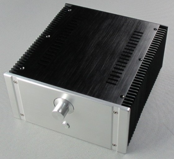 2412B Full Aluminum Enclosure / mini AMP case/power amplifier box/ chassis wa60 full aluminum amplifier enclosure mini amp case preamp box dac chassis