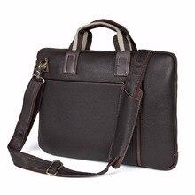 2017 New Arrival Genuine Cow Leather Men's Fashion Handbag Classic Messenger Bag Fashional Sholder Bag 6018