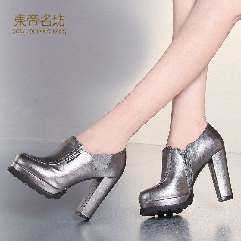 ФОТО Wedding Shoes Super High Heels Women Pumps High Waterproof Ruffle Design Elastic Band Low Open Office Shoes 67007