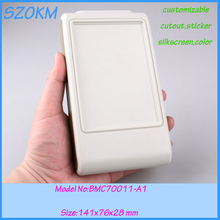4 pcs/lot free shipping abs plastic electrical box handheld electronic enclosure 141x76x28mm