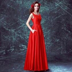 S 2019 Новое поступление наличии для беременных Большие размеры свадебное платье вечернее платье Красный Длинные атласные сексуальные v шеи