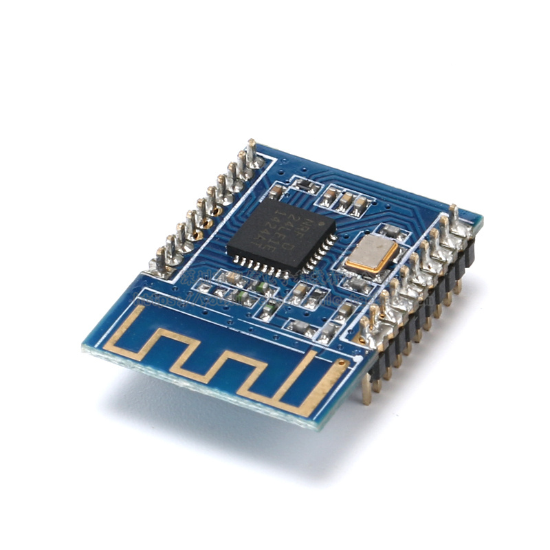 NRF24LE1 wireless transmission module/NRF24L01+51MCU single chip with MCU nrf24le1 wireless data transmission modules with wireless serial interface module dedicated test plate