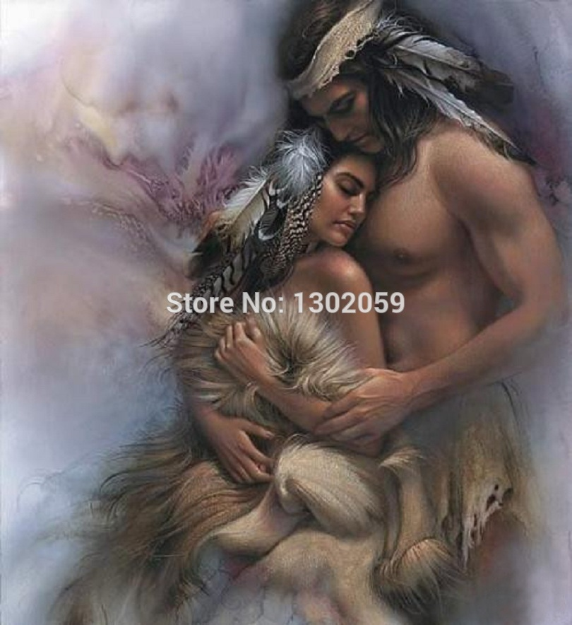 Available High Quality Embroidery Package Cross Stitch Kit Angel Love 18CT/16CT/14CT/11CT/9CT