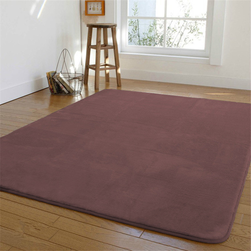 Free shipping High end 200 x400cm Coral fleece bedroom carpet bed non slip blanket floor mat short hair rugs easy to care