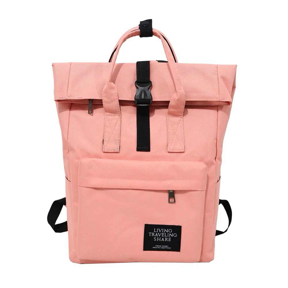 8b8834ab3f New Women Preppy Large Backpack Canvas Travel Backpack Male Mochila Escolar  Girls Laptop Backpack School Bags