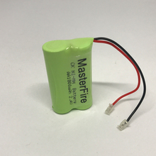 MasterFire New Original Ni-MH AA 2.4V 1800mAh Rechargeable Battery Pack With Plugs For Cordless Phone Batteries