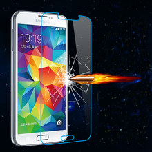 Gehard glas screen protector voor Samsung galaxy S S2 S3 NOTE2 3 4 5 Duos protector HD clear film guard crystal Shield(China)
