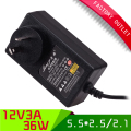 1pcs High Quality AU Plug power supply pc 12 v power supply 3a 36w for led lamp and camera