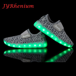 new summer children sneakers running shoes breathable sports led usb luminous lighted up shoes for.jpg 250x250