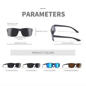 Image 4 - AOFLY MARKE DESIGN TR90 Polarisierte Sonnenbrille Männliche Fahrer Shades Frauen Mode Sonnenbrille Für Männer Platz Brillen zonnebril heren