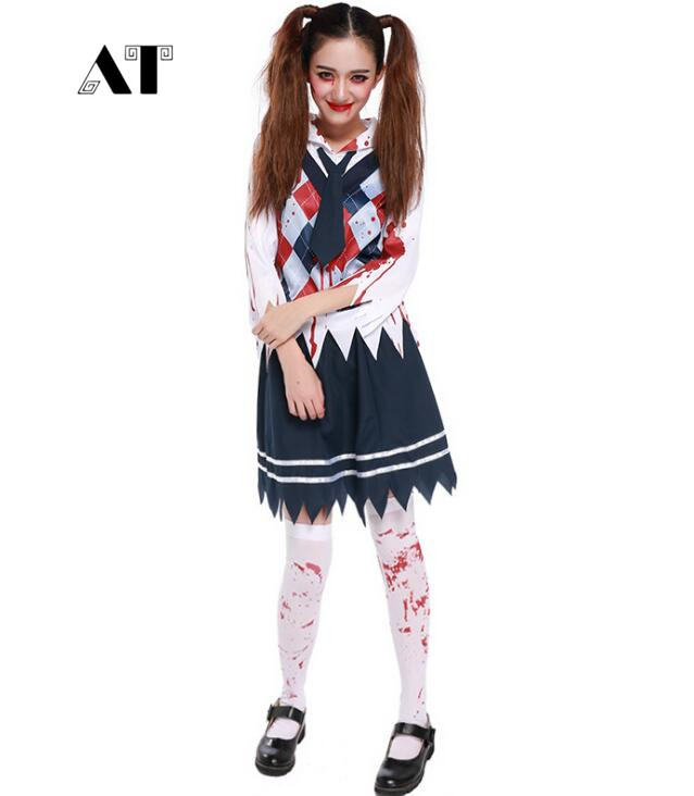 Supply New Halloween Red Trellis Student Teacher Uniform Party Costumes Stage Performance Clothing Youth Campus Breeze L18621125 Game Costumes
