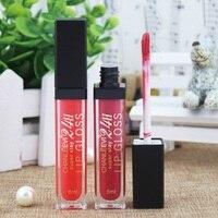 12 Color Fashion Beep Lips Color Makeup Super Sexy Liquid Cosmetics Velvet Matte Moisturizing Lasting Moisture 8ml