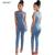 Mamelucos Womens Jumpsuit 2016 Otoño Elegante Cuello Alto Recortable Apretado Del Partido Del Club Mujeres Bodycon Mono Atractivo Del Mono Monos
