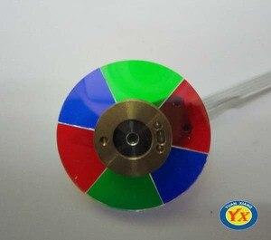 Image 2 - Оригинальное цветное колесо проектора, подходит для проекторов головного света/HD25e/HD131, цветное колесо проектора высокого качества