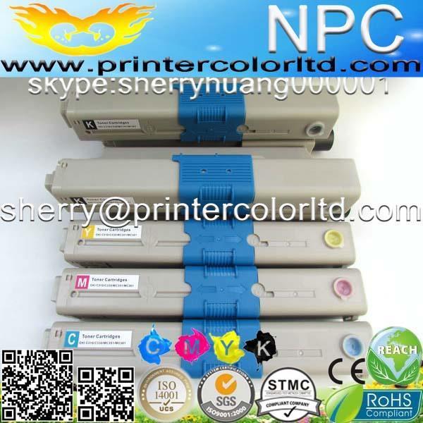 Color toner cartridge kompatibel für oki c310/c330/c331/c510/blusen-c511/c530/c531