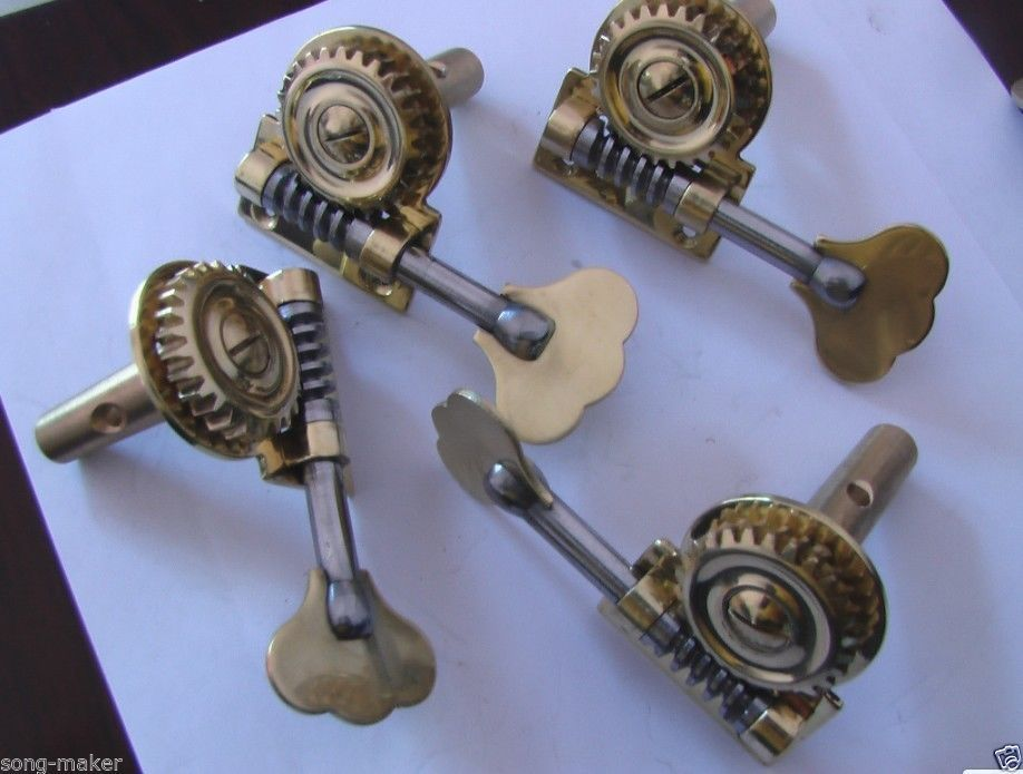 New 3/4 Double Bass Machine Head Pegs, French Style