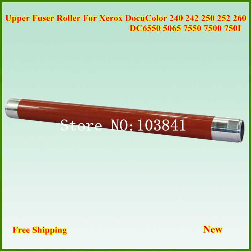 New Upper Fuser Heat Roller For Xerox DC 240 242 250 252 260 WC 7655 7665 7675 7755 7765 7775 DCC 6550 7500 7550 6500 5500 7600 1pcs for brother printers mfc9140 9330 9340 hl3150 upper fuser roller