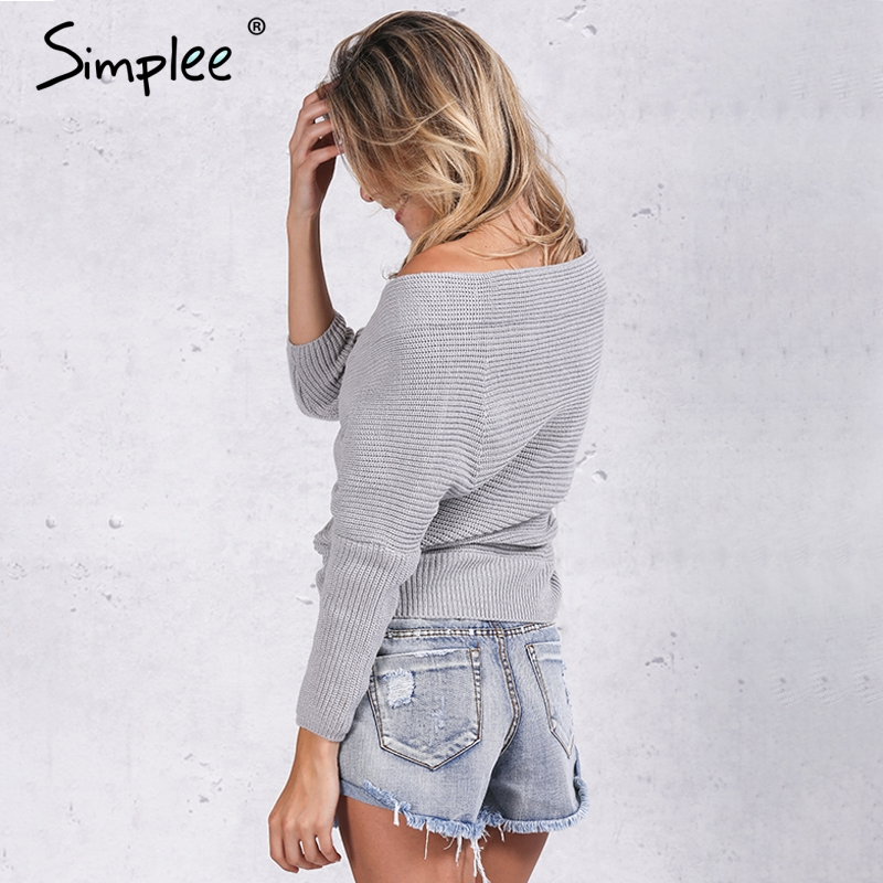 03ecebe873 ... Fashion pullovers thick sweater women Autumn winter v neck batwing  sleeve sweater Elegant loose white sweaters jumper. 50% Off. 🔍 Previous.  Next