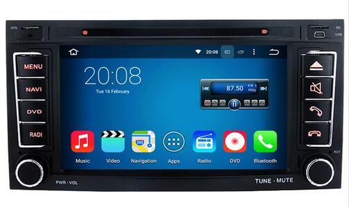 Android 6.0.1 8-ядерный 8 Core 1024*600 HD dvd-плеер автомобиля для VW транспортер до 2009 радио авто GPS магнитофон штатные