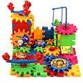 1 conjunto variedade blocos de construção do modelo kits de engrenagens cunha transformar movendo-se bloco elétrico de brinquedo crianças brinquedos educativos diy abbembly