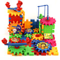 1Set Variety Model Building Blocks Kits Gears Wedging Turning Moving Electric Block Toy Kids Educational DIY Abbembly Toys