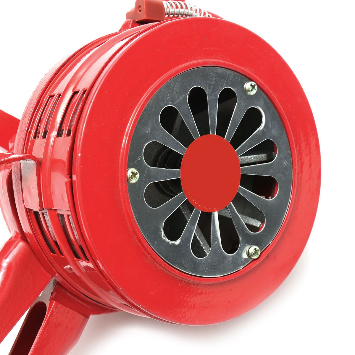 FGHGF 4.5 Red Aluminium Alloy Handheld Manual Operated Security Alarm Air Raid Siren Portable Safety Alarm Siren Red personal guard safety security siren alarm with led flashlight white 2 cr2032