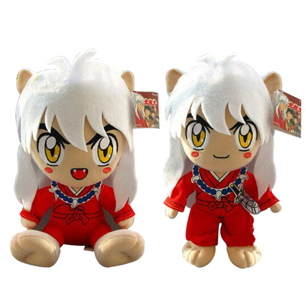 New Arrival  Inuyasha Figure 30cm Anime Kagome Plush Toy Cute Doll