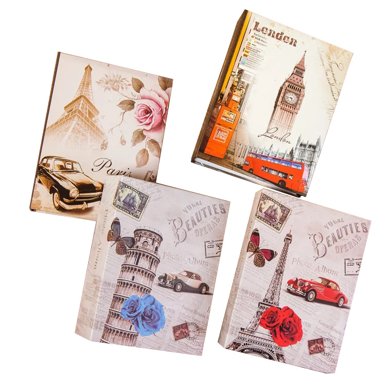 Oferta 100 fotos bolsillos álbum fotos intersticiales fotos libro caso chico álbum almacenamiento familia boda memoria regalo Envío Gratis: grande 200*250 Cm/79 * 99in negro 3D DIY Árbol de la foto PVC calcomanías de pared/adhesivos de la familia Mural arte decoración del hogar