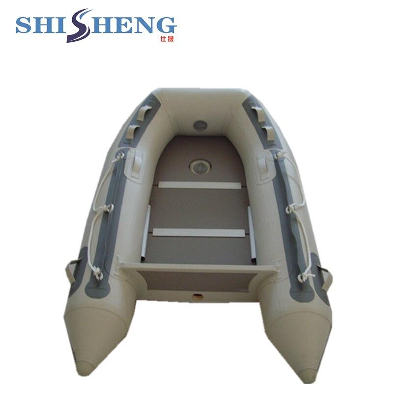Mini bateau gonflable portatif petit bateau de ventre pour la pêche