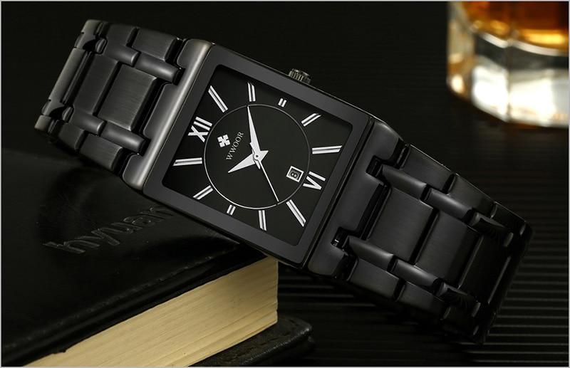 HTB1DGt ak9E3KVjSZFrq6y0UVXaH Men Watches Top Brand Luxury WWOOR Gold Black Square Quartz watch men Waterproof Golden Male Wristwatch Men watches