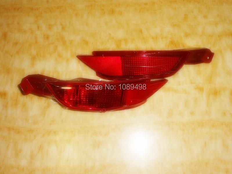 2ks / pár RH a LH Zadní nárazník do mlhy pro Ford Fiesta 2009-2012