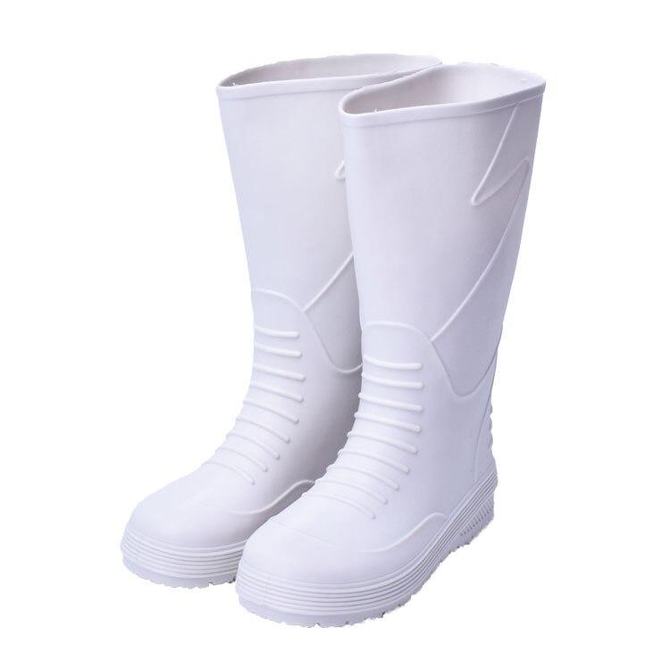 Aggressiv Swyivy Rain Männer Eva Küche Anti Slip 2019 Licht Gewicht Männlich Wasserdichte Regen Stiefel 35 Cm Weiß Rain Für Männer 45
