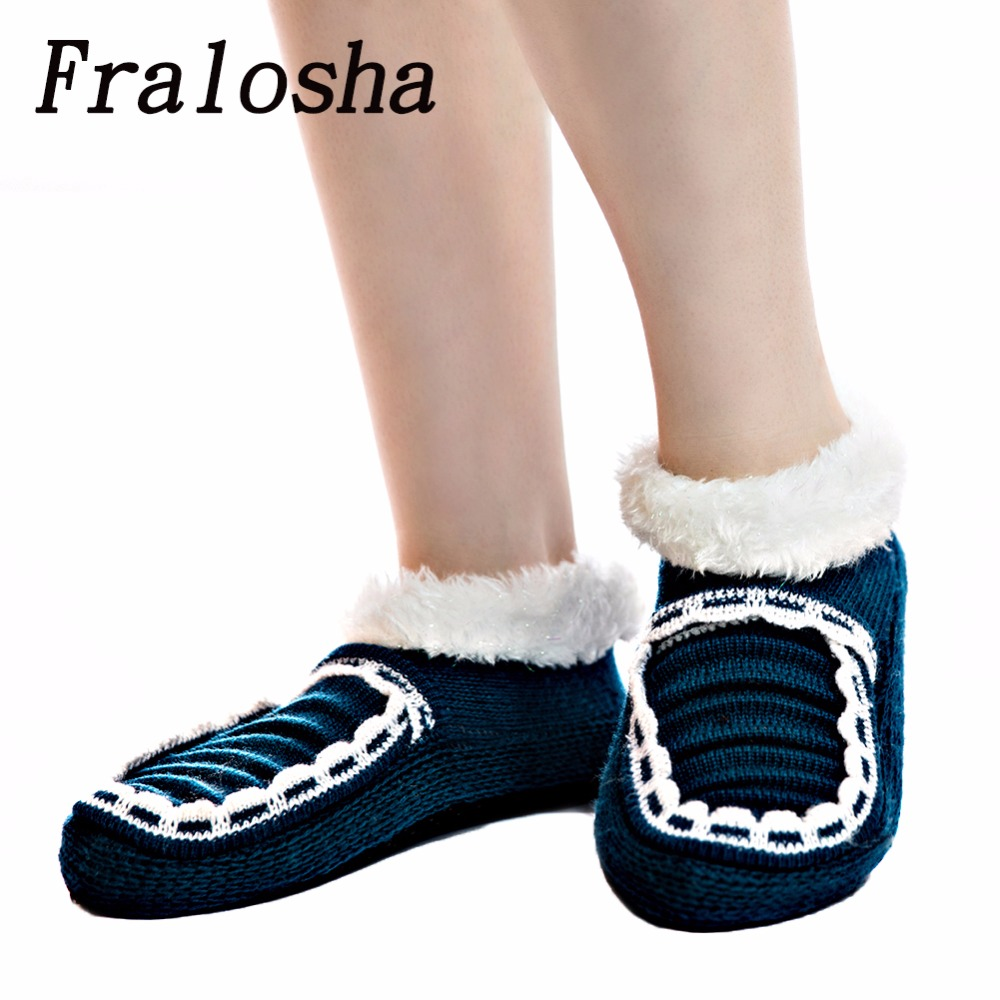 Fralosha Warm At Home Women Wool Slippers Cotton Shoes Plush Female Floor Shoes Bow-knot Fleece Indoor Shoes Woman Home Slippers tolaitoe new winter warm home women slipper cotton shoes plush female floor shoe bow knot fleece indoor shoes woman home slipper