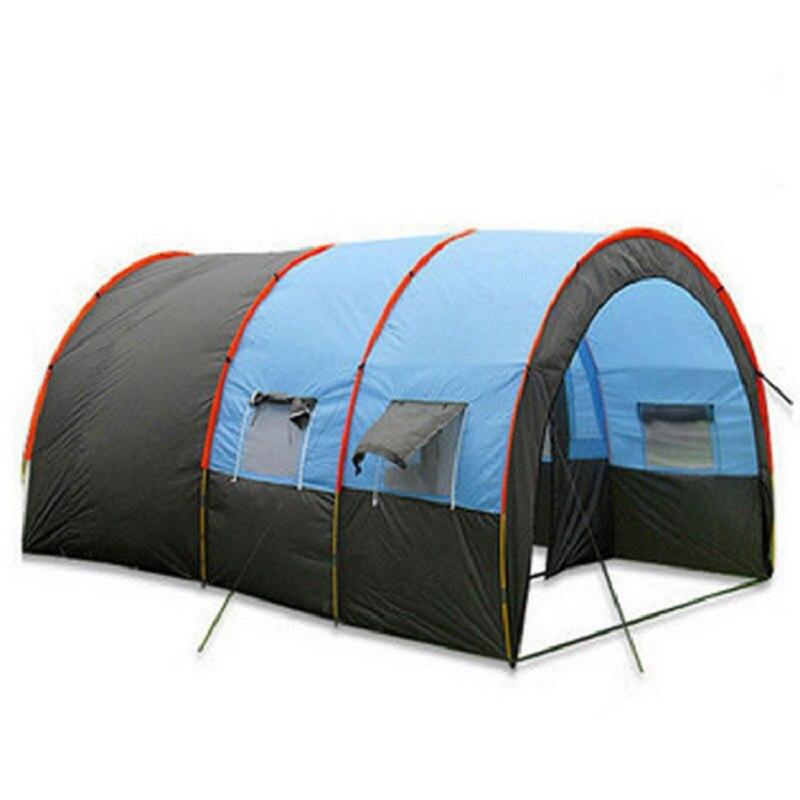 480*310*210 cm camping en plein air 5-8 personnes tente imperméable Anti-UV auvent auvent tente de survie sauvage