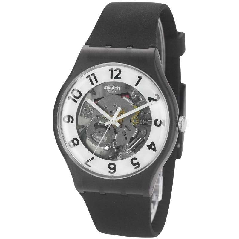Swatch Watch Original Colorful Series Quartz Watch SUOB134 swatch original colorful quartz watch suob135