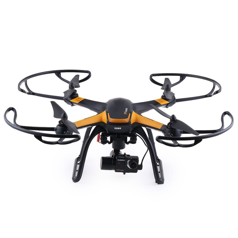 Hubsan Drone 1080P Camera Rc-Quadcopter Brushless-Gimbal X4 PRO GPS HD with 1-Axis 7CH