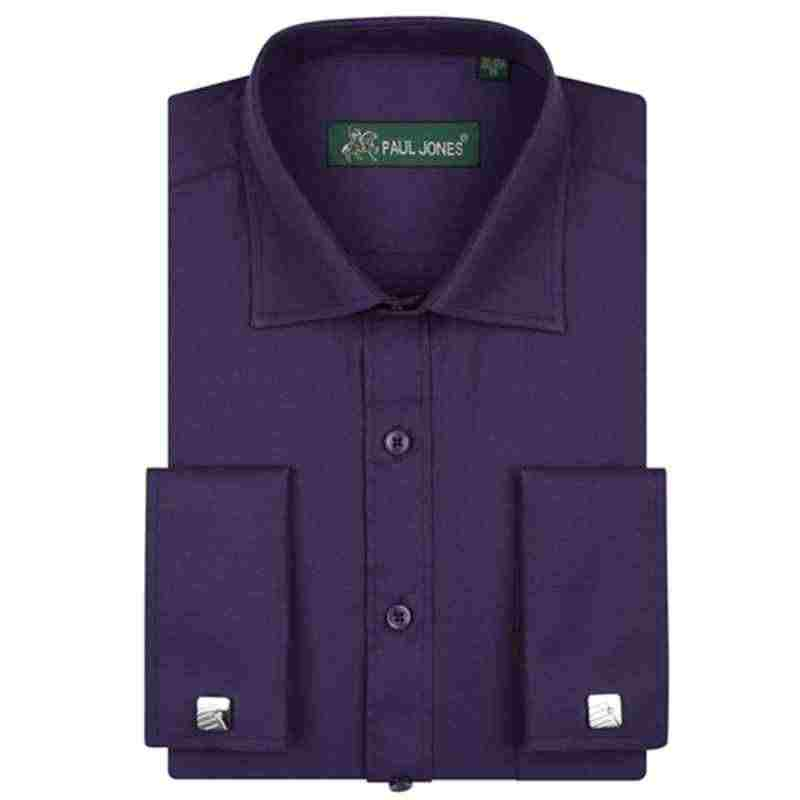 フォーマルメンズファッションウェディングドレスシャツビジネスフレンチカフスブランドデザイナー綿男性社会長袖パーティー男性シャツ
