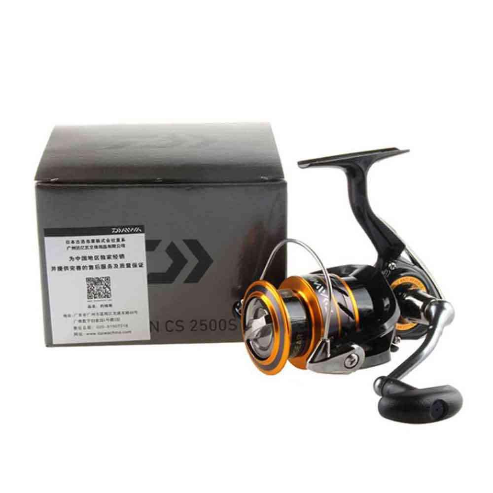 Daiwa pêche bobine MISSION CS 2000-4000 nouvelle taille avec Metail ligne tasse 2 KG-6 KG puissance