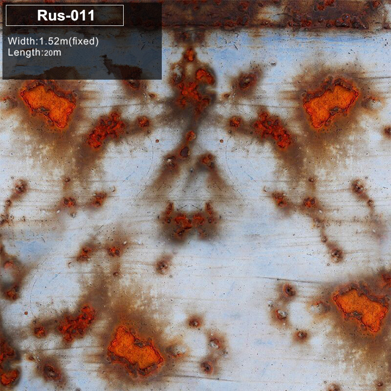 RUS 011 Iron Rusted Vinyl Wrap Film For Car Sticker Wrap Rust style Wrapping Colored Car Full Body Wrap Vinyl Bomb Bubble Free iron rust vinyl wrap film for car wrap rust style wrapping colored car full body wrap vinyl sticker bomb air bubble free ir 8