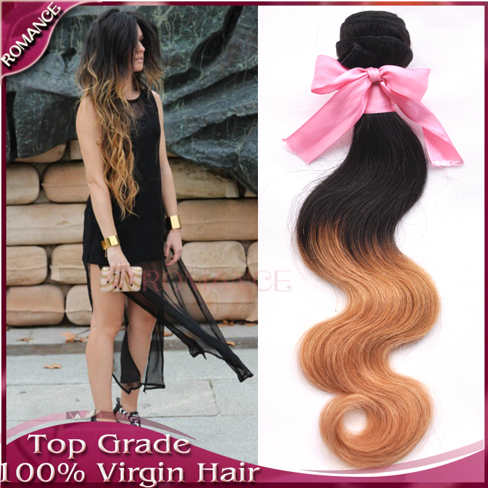 7a ombre hair extensions blonde brown and burgundy ombre brazilian 7a ombre hair extensions blonde brown and burgundy ombre brazilian hair human weave bundles 3pcs human hair extension very soft in hair weaves from hair pmusecretfo Image collections
