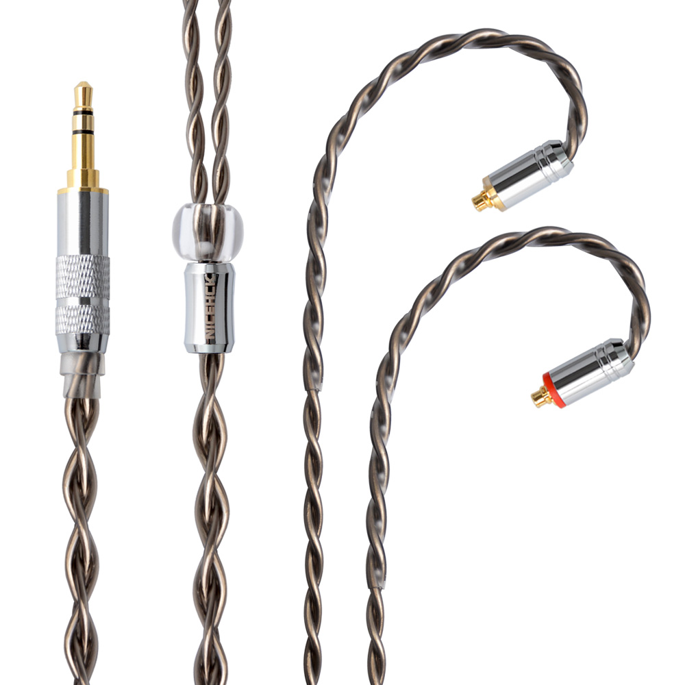 NICEHCK 7N Single Crystal Copper OCC Silver Plated Cable 3.5/2.5/4.4mm MMCX/2Pin For TFZ KZAS10/ZS10 CCAC16 NICEHCK NX7/M6/F3-in Earphone Accessories from Consumer Electronics