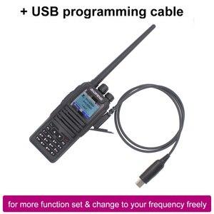 Image 2 - Walkie talkie dmr baofeng de novo lançamento, modo duplo, analógico e digital, DM 1701 tier 1 + 2, slot dual time dm1701 ham rádio de banda dupla