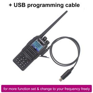 Image 2 - Новинка, Двухрежимная аналоговая и цифровая рация launch DMR Baofeng, стандартная Двухдиапазонная рация, 1 + 2 слота времени DM1701, Любительское двухдиапазонное радио