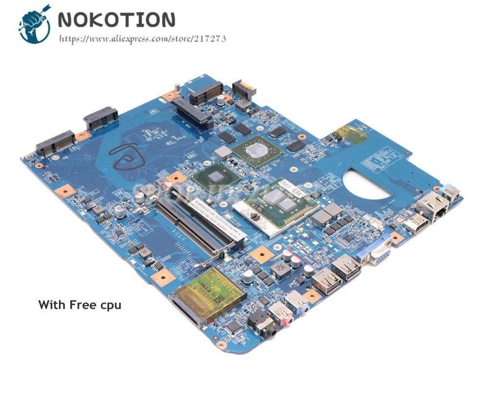 NOKOTION For Acer Aspire 5740 5740G Motherboard MBPM701001 MBPM701002 48.4GD01.01M JV50-CP MB 09285-1M MAIN BAORD HD5650 1GB